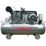 Hitachi Bebicon Air Compressor  oil flooded,horizontal type,5hp, 8Bar, 158kg 3.7U-9.5V5A(Three Phase)